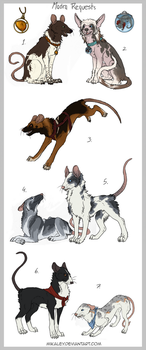 Adoptables - Madra VII CLOSED by Mikaley
