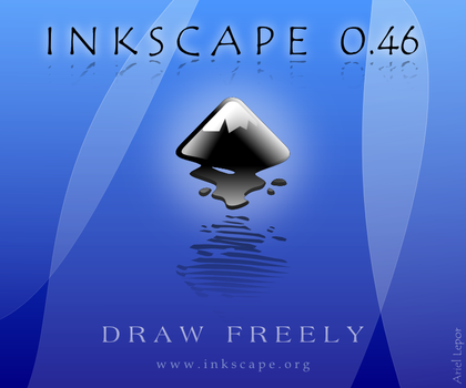 Inkscape 0.46 About Screen by artguy10