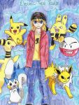 Electric-type Pokemon Trainer by MitsukiChan313