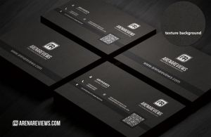 Black Business Card by ArenaReviews