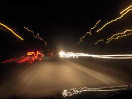Night on the road by DanBoldy