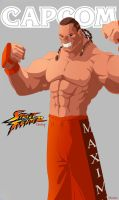 Dee Jay - Street Fighter - CAPCOM by lorddeimons