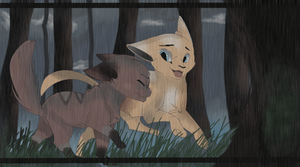 ''Pretty Rainy Out Here Huh?'' by YHinne