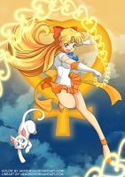 ::COLAB:: Super Sailor Venus!! Love-Me-Chain! by arashkya