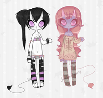 {Demon Ladies Collab} by ArrangedShenanigans