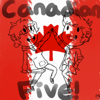 Canadian Five by 2-DimensionalNerd