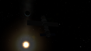 Arrival at Munlab by thekerbalflyer
