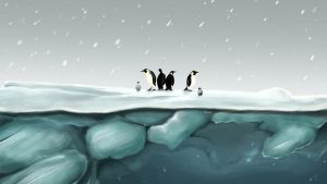 Penguins by NikiVandermosten