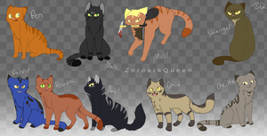 The Walking dead game .:Cats:. part 2 by ZoroarkQueen