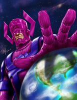 Galactus doesn't follow the Mayan calendar by Oshouki