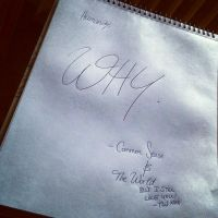 WCB. Got a note back. by TheGweny