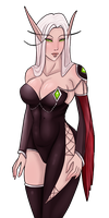 Request Blood elf by Nixxia