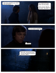 Star Wars Alternate scene:  Leia learns the truth by wmarcolongo
