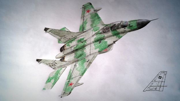 Russian MiG by stachu96