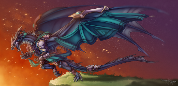 Commission : For Glory by WeirdHyenas