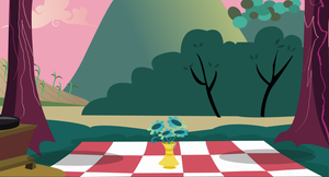 Picnic Background by Vector-Brony