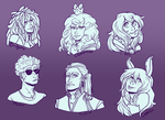 Join me Busts by MissThunderkin
