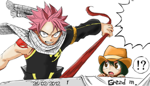 Manga 272: Fairy Tail color by GrendM