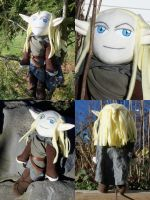 Haldir Plush: FOTR Version by VineyardElf