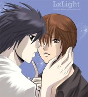 ::Death Note-LxLight:: by Project-Dartas