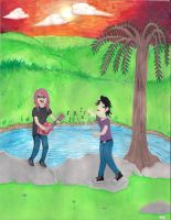 Music and Ponds and Girlfriends by philophobiaphorever