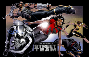 Street Team - ATL Division Colors by mase0ne