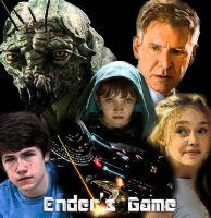 Ender's Game Movie Poster by avarice4adventure