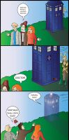 xOVER - Grand Theft TARDIS by quirkyslayer