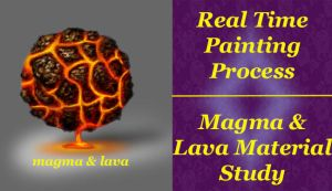 Material Study 04 Magma and Lava by ewmh1