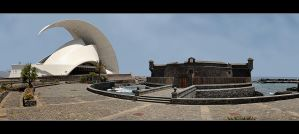 Architecture New And Old - Santa Cruz De Tenerife by skarzynscy