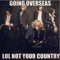 The GazettE needs to come to 'Murica by forbidden-insanity