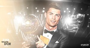 Cristiano Ronaldo - FIFA Ballon D'Or 2014 by hugopaisdesign