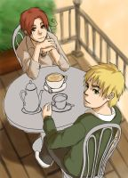 APH: iggy and italy wipwip by qianying