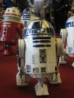 R2D2 was here! by SpriteGirl