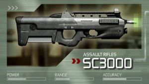 Splinter Cell: Conviction SC3000 Assault Rifle by Scarlighter