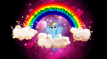 BG: Rainbows in the Sky by Vividkinz