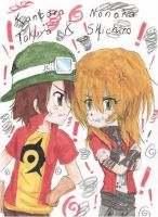 The Fighting Lovers by Shichiro-chan
