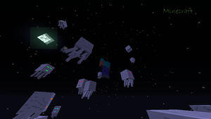 15 Ghast Moon - Minecraft by TacoTruckOfArt