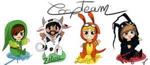 FanArt - CoopTeam by YepVans