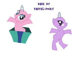 My little lazy MLP bases by Pastel-Pocky