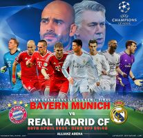 Bayern Muenchen - Real Madrid Champions League by jafarjeef
