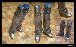 Armored Boots by SP4RT4N-23
