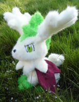 Sky Forme Shaymin Plush by angelberries