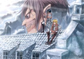 Shingeki No Kyojin - Ray of Hope by Nick-Ian