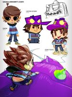 Zeoland E-Artbook Preview Page by zeoarts