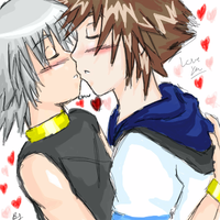 More Riku Sora by Dawnfira