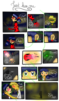 Miraculous Ladybug comic: Just Kiss Me by Puppy-Shy