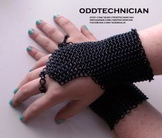 Black Bracer Set by ulfchild