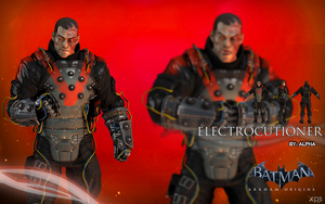 Batman Arkham Origins - Electrocutioner by XNASyndicate