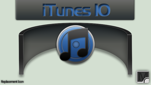 iTunes 10 soft icon by vi20RickrMetal12us